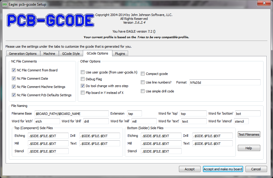 Create G-Code from an EAGLE File – Richard\'s Website